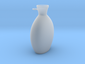 Flask in Smooth Fine Detail Plastic