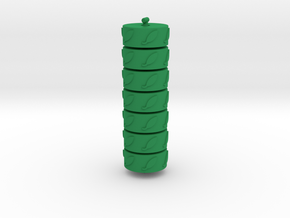 Argent Bases - Nature (7 pcs) in Green Processed Versatile Plastic