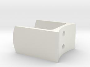 Saber 1 Bunny Ears (Optional) in White Natural Versatile Plastic