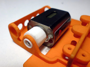 Motors adapter in White Natural Versatile Plastic