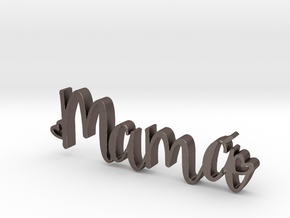 Mama letters in Stainless Steel