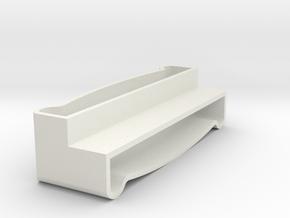 Blind Valence Clip in White Natural Versatile Plastic