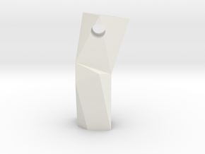 Diviner Obelisk in White Natural Versatile Plastic
