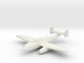 Heinkel He.280 V2 6mm 1/285 in White Strong & Flexible