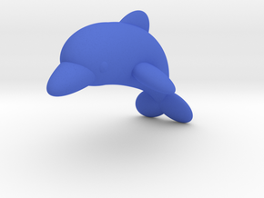 Dolphin (Nikoss'Fishes) in Blue Processed Versatile Plastic