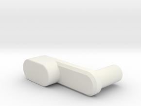 Floppy 1571 Handle in White Natural Versatile Plastic