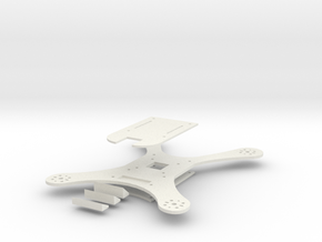 Q205 w/ 3mm base plate in White Natural Versatile Plastic