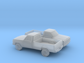 1/160 2X  1979 Dodge D-200 in Smooth Fine Detail Plastic