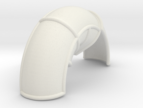 10A-Corrected Left Rear Fender in White Natural Versatile Plastic