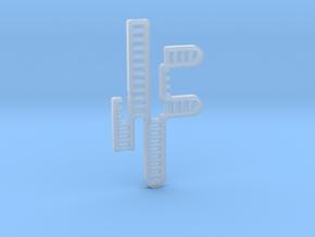 CRISPR RNA Pendant in Smooth Fine Detail Plastic