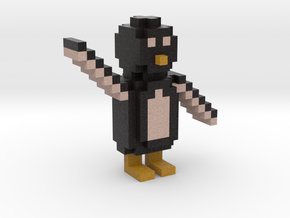 Minecraft Penguin in Full Color Sandstone