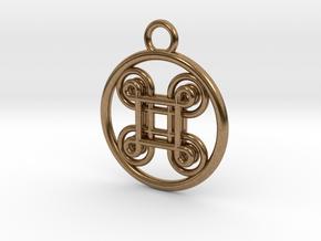 Hannunvaakuna 2.0 in Natural Brass