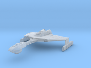 D 5 Cruiser in Smooth Fine Detail Plastic