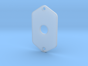 Jaguar Plate - 3 Way Switch in Smooth Fine Detail Plastic