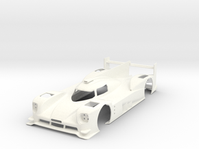 Porsche 919 15 in White Processed Versatile Plastic