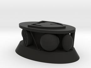 Sports Trophy in Black Natural Versatile Plastic