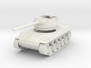 M18 Hellcat 1/87 12Apr2016 in White Natural Versatile Plastic