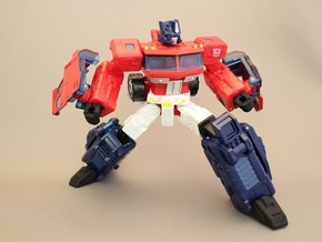 Classics Optimus Prime Hand and Foot Upgrade Parts in Black Strong & Flexible