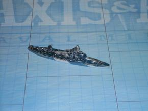 USS Arkansas 1/1800 in White Natural Versatile Plastic