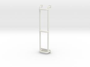 Ladder for roofrack Adventure D90 D110 Gelande 1:1 in White Natural Versatile Plastic