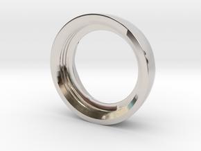 Ag Torch: Brass Bezel Ring (3 of 4) in Platinum
