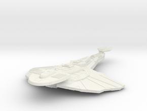 Gorlor Class IV Destroyer in White Natural Versatile Plastic
