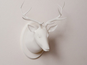 deer dear in White Natural Versatile Plastic