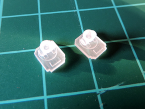 ISD 4222 Bottom Antennas in Smooth Fine Detail Plastic