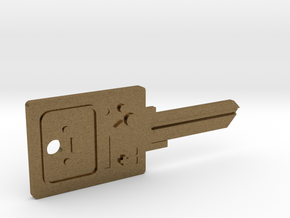 BMO House Key Blank - KW11/97 in Natural Bronze