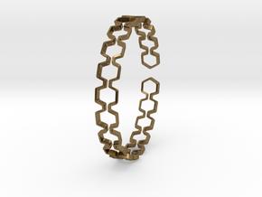Honeyfull Bracelet 65mm in Natural Bronze