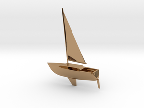 Bob's Boat  in Polished Brass