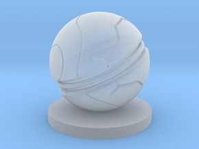 Slaughterball Large (15mm) in Smooth Fine Detail Plastic