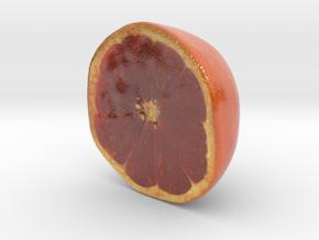 The Grapefruit-Half-mini in Coated Full Color Sandstone