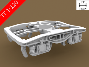 TT Scale Y25 Type Chassis 2pcs (EU) in Smooth Fine Detail Plastic