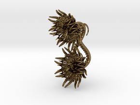 Plugs / gauges/ 10g (2,5 mm) in Polished Bronze