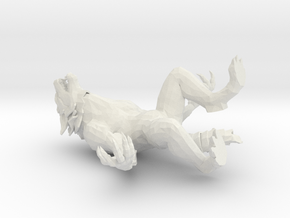 Werewolf For Printing in White Strong & Flexible