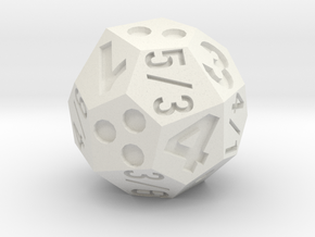 multidie d4/6/8 in White Strong & Flexible