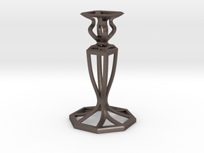 Signature Candlestick in Stainless Steel