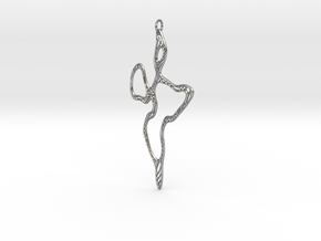 Organic Form #1 in Natural Silver