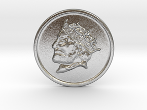 Silver Trenni Coin in Raw Silver