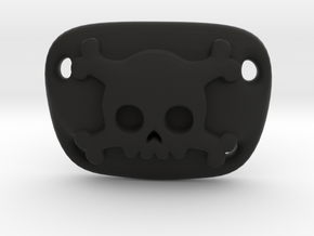 Pirate Eyepatch 1/3 SD Scale in Black Natural Versatile Plastic