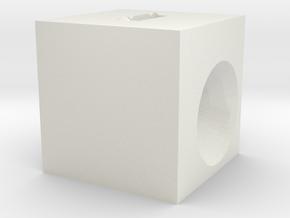 Minecraft Amplifier in White Natural Versatile Plastic
