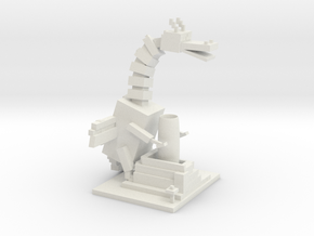 Ender Dragon Desktop Organizer in White Strong & Flexible