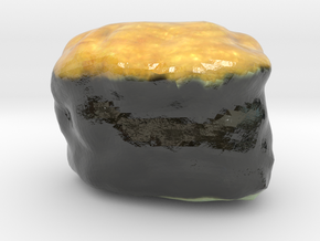 The Sushi of Natto-mini in Glossy Full Color Sandstone