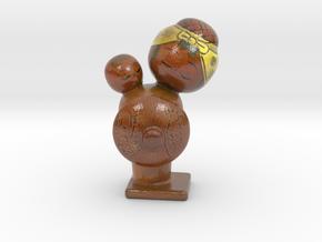 The Kokeshi Doll-mini in Glossy Full Color Sandstone