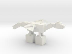 Minecraft Ender Dragon Headphone Holder in White Natural Versatile Plastic