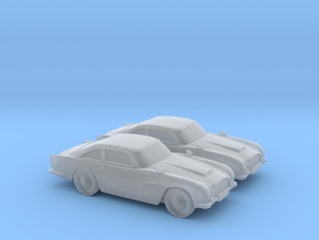 1/120 2X Aston Martin DB5 in Frosted Ultra Detail
