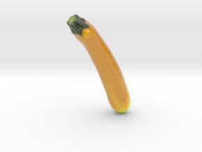 The Zucchini-mini in Glossy Full Color Sandstone
