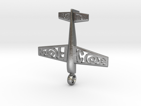 Stickxtra Pendant Flying Circus Special 50mm in Natural Silver