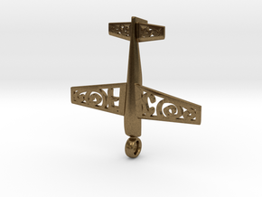 Stickxtra Pendant Flying Circus Special 50mm in Natural Bronze